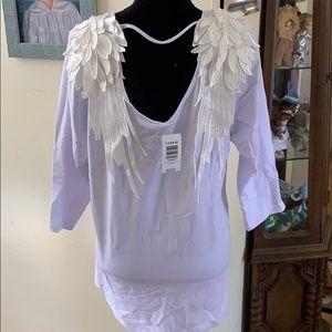 NWT Torrid angel wings T-shirt